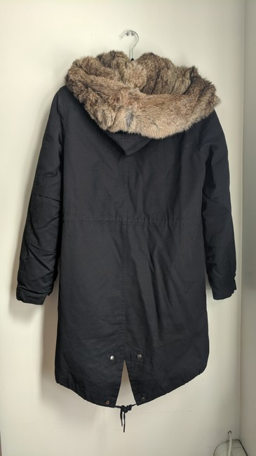 Woolrich Winter Rabbit Fur Coat Image 2