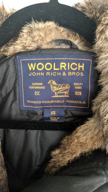 Woolrich Winter Rabbit Fur Coat Image 3