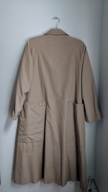 Unique Vintage Swing Trench Coat Image 2