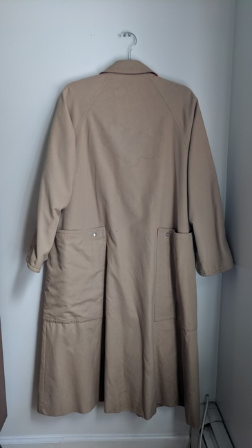 Unique Vintage Swing Trench Coat Image 3