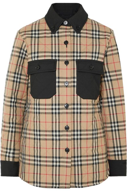 Preload https://img-static.tradesy.com/item/26102797/burberry-checked-quilted-wool-twill-jacket-coat-size-00-xxs-0-1-650-650.jpg