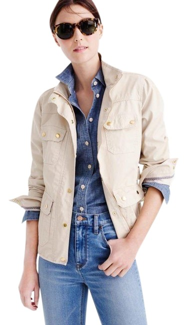 Item - Cream Downtown Field Jacket Size 8 (M)