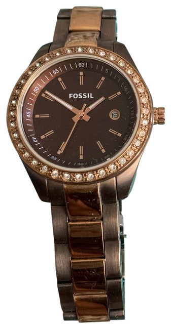Item - Brown and Rose Gold Women's Watch