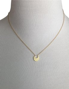 Gorjana Mini Crescent Necklace