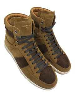 Saint Laurent Men Sneakers Otterproof Ysl Ysl Sneakers Tan/Coffee Athletic