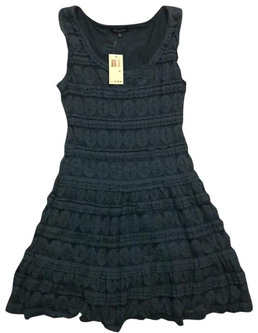 Item - Teal Layered Lace Short Casual Dress Size 8 (M)