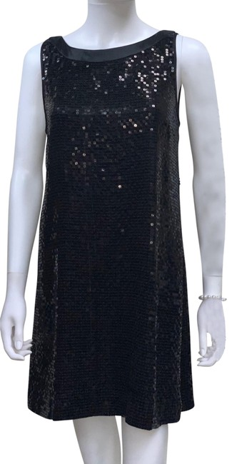 Johnny Was Black For Love and Liberty Vintage Sequin Party Cocktail Short Night Out Dress Size 8 (M) Johnny Was Black For Love and Liberty Vintage Sequin Party Cocktail Short Night Out Dress Size 8 (M) Image 1