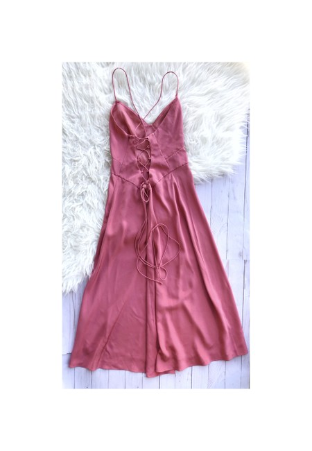 Item - Pink Slip Long Night Out Dress Size 6 (S)