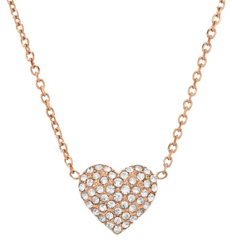 Michael kors rose gold necklace michael kors jewelry for Michael b jewelry death