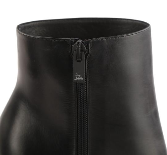 Christian Louboutin So Kate Winter Black Boots Image 8
