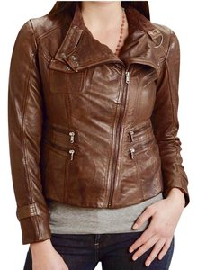 Stetson Brown Leather Jacket