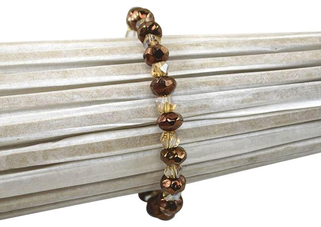 Item - Brown/ Gold Condition: Gently Used/ No Signs Of Wear. Measurements: 2.5'' Length Bracelet