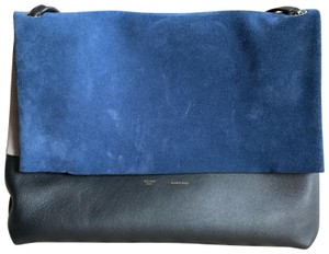 Céline Tote in black and blue