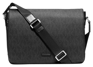 Michael Kors Jet Men's Men's Travel Career Men's Crossbody Black Messenger Bag