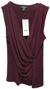 DKNY Top Bordeaux