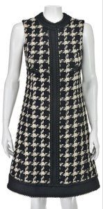 Unique Couture Wool Jacket Houndstooth Dress