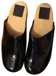 Tory Burch black Mules