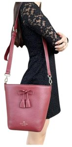 Kate Spade Womens Accessories Leather Cross Body Bag