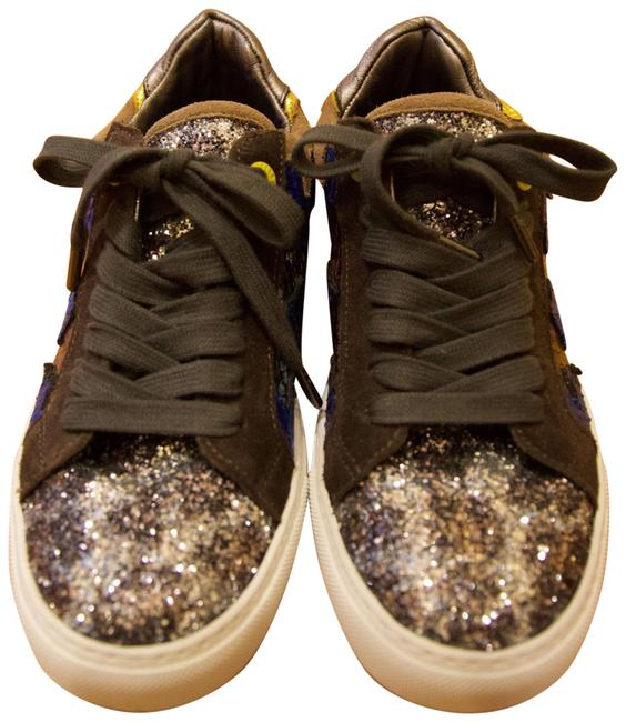 Item - Multicolor And Bling Sneakers Size EU 38 (Approx. US 8) Regular (M, B)