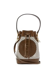 Fendi Mon Tresor Mini Mon Tresor Bucket Cross Body Bag