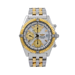 Breitling Breitling Chronomat D13352 39MM Mother of Pearl Dial With Two Tone Bra