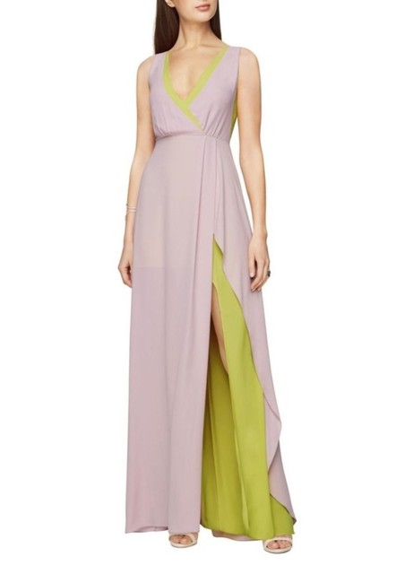 Item - Lavender Mist Multicolor Sleeveless Surplice Gown Long Cocktail Dress Size 2 (XS)