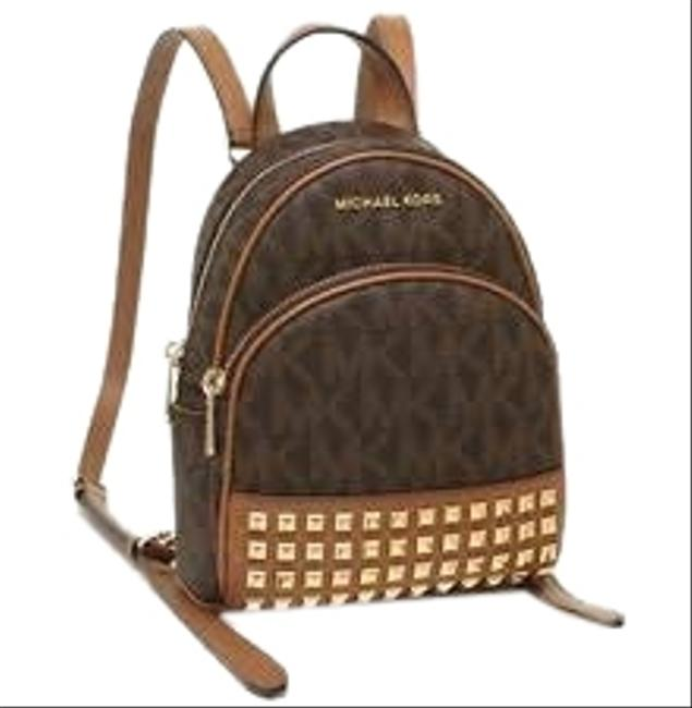 Item - New Abbey Extra Small Brown/Acorn Leather Backpack
