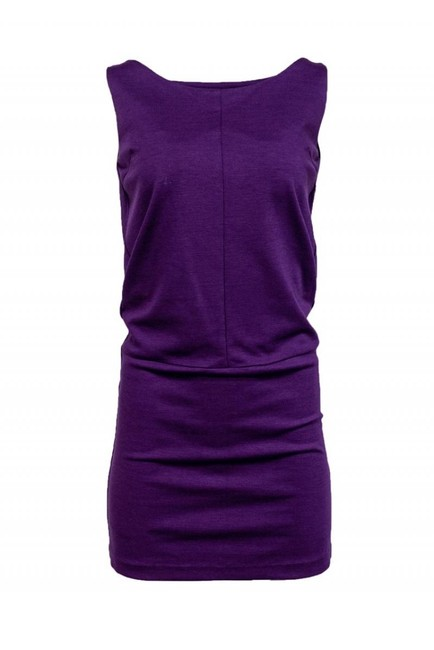 Item - Purple Short Casual Dress Size 4 (S)