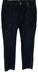 White House | Black Market Cargo Jeans-Dark Rinse