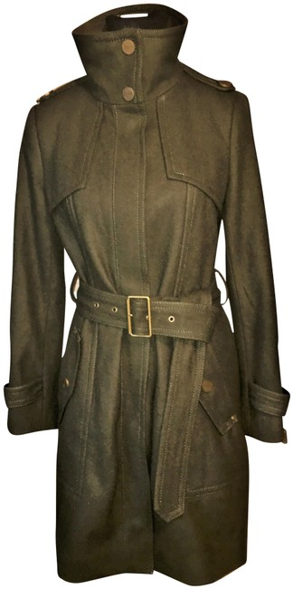 Item - Army Green Military Coat Size 4 (S)
