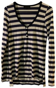 Hatch Striped Long Sleeve Henley