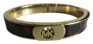 Michael Kors New Michael Kors Heritage Fulton Gold Tone Tortoise Bangle Bracelet