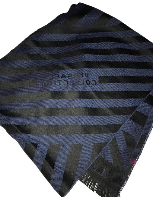 Item - Black and Blue 220 675 369 817 Scarf/Wrap