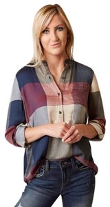 Lucky Brand Top blue, olive
