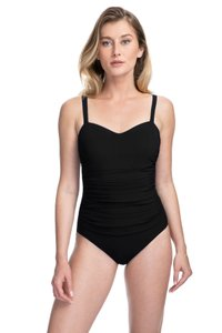 Gottex Profile by Gottex TUTTI FRUTTI SHIRRED UNDERWIRE D-CUPS ONE-PIECE~16D