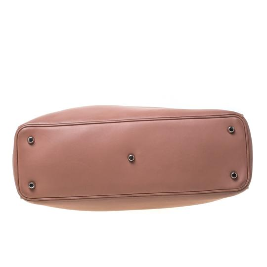 Dior Leather Tote in Pink Image 1
