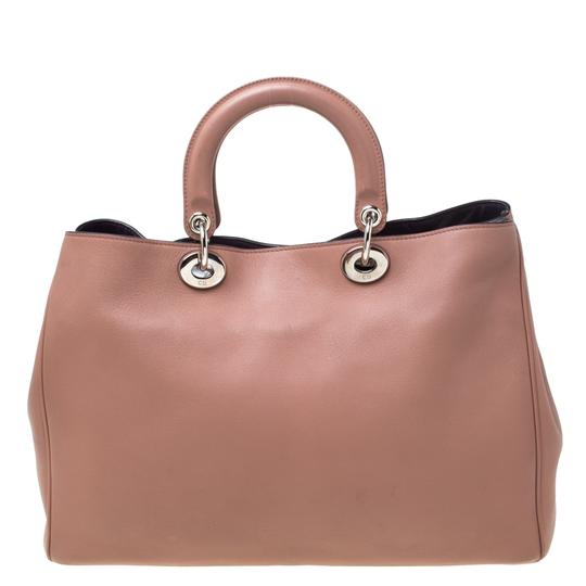 Dior Leather Tote in Pink Image 6