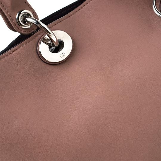Dior Leather Tote in Pink Image 9