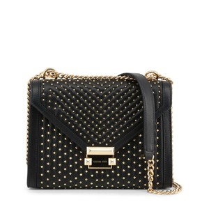Michael Kors Studded Quilted Leather Chain Strap Cross Body Bag