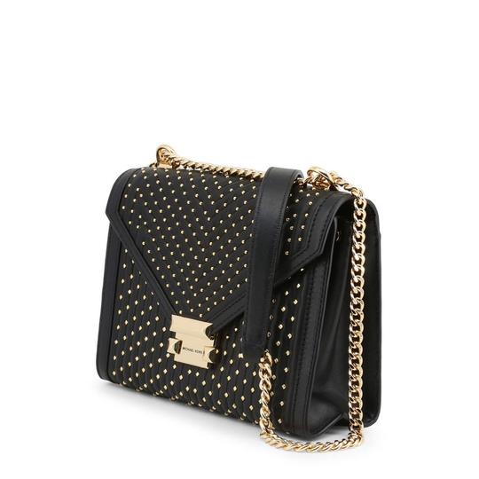 Michael Kors Studded Quilted Leather Chain Strap Cross Body Bag Image 1