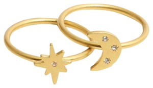 Madewell Spaced Out Ring Set