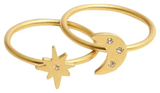 Preload https://img-static.tradesy.com/item/26116065/madewell-vintage-gold-spaced-out-set-ring-0-1-540-540.jpg