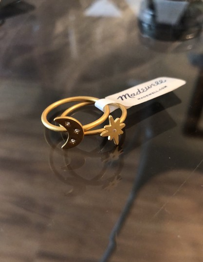 Madewell Spaced Out Ring Set Image 3