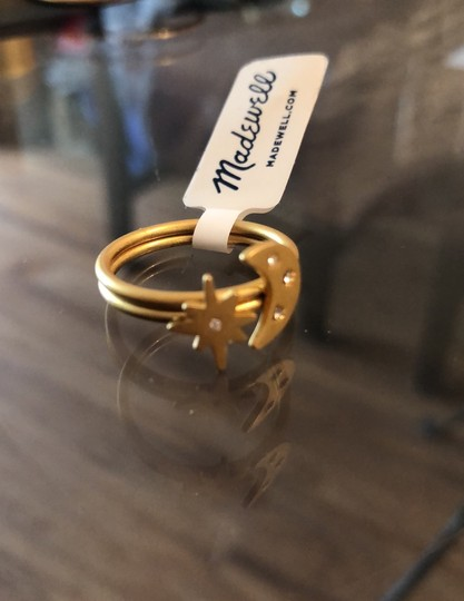 Madewell Spaced Out Ring Set Image 5