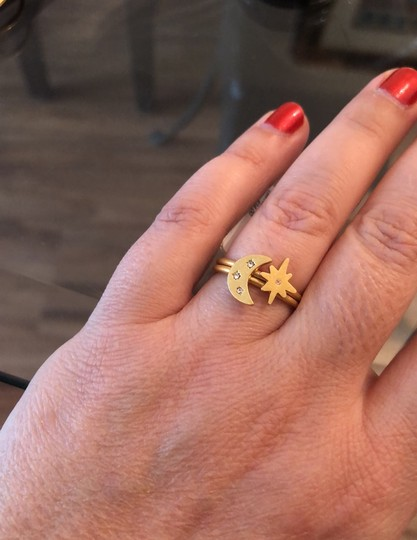Madewell Spaced Out Ring Set Image 6