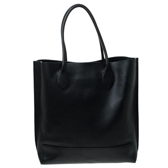 Mulberry Leather Unlined Tote in Black Image 1
