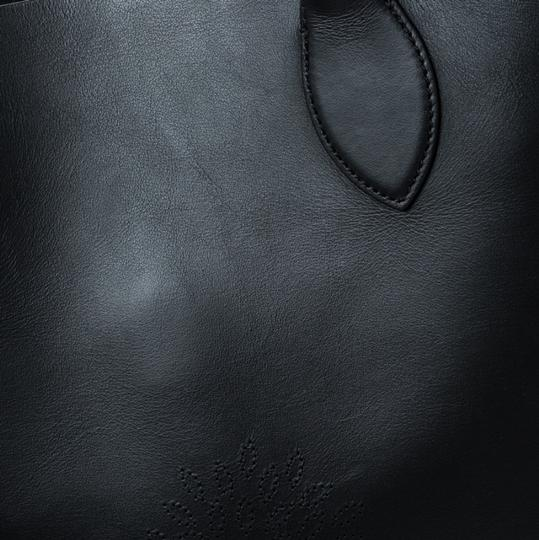 Mulberry Leather Unlined Tote in Black Image 10