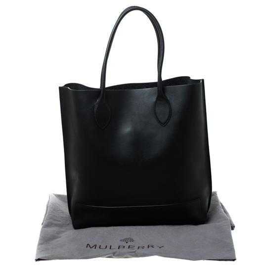 Mulberry Leather Unlined Tote in Black Image 11