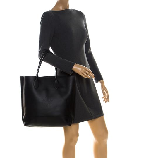 Mulberry Leather Unlined Tote in Black Image 2