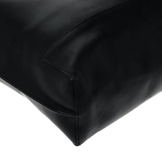 Mulberry Leather Unlined Tote in Black Image 5